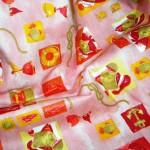 Fantasia Rosa Tessuto Cotone 100%