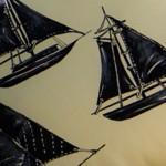 Fantasia Barca Tessuto 100% cotone